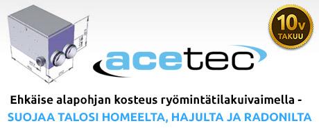 acetec ryömintätilakuivain