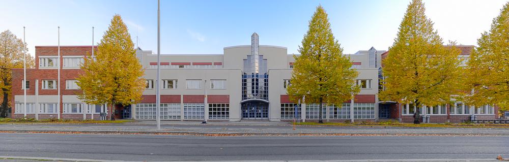 Kuopion valtuustotalon muutostöitä
