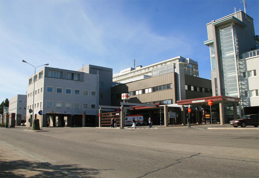 Kuopion Yliopistollisen Sairaalan muutostöitä