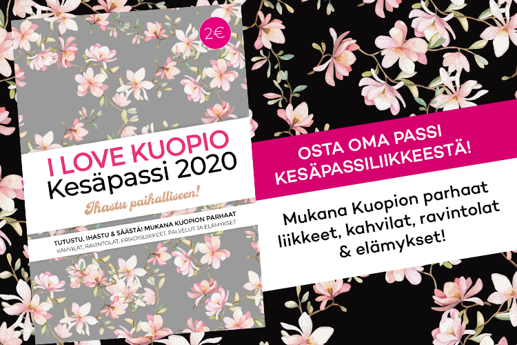 I Love Kuopio passi
