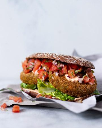 Kvinoa-ruisburger