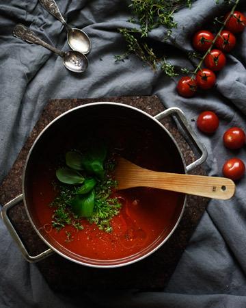 Tomaattikastike á la Rantanen familia