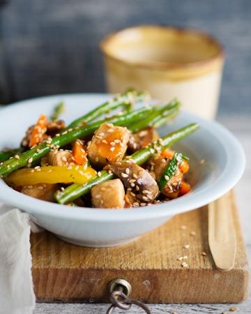 Sweet and sour wok eli hapanimelä wokki à la Tuorekset
