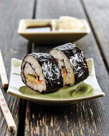 Sushirullat eli Maki-sushi