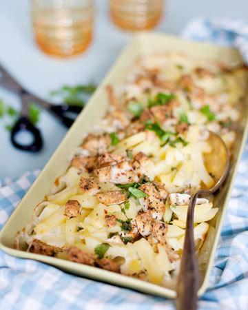 Tofu-kermaperunat