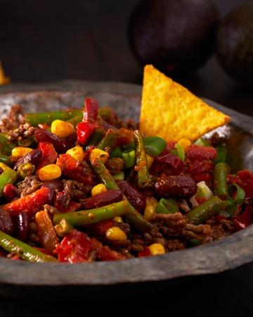 Meksikolainen lihapannu