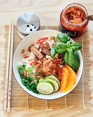 10 minuutin korealainen kimchi-kulho