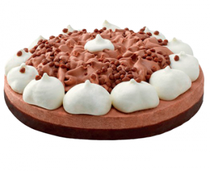 Vanilja-suklaa jäätelökakku 1L